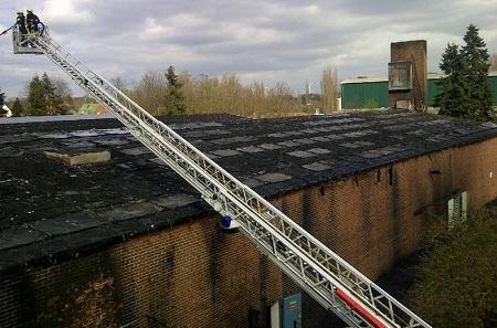 Brand einer Photovoltaikanlage in Goch